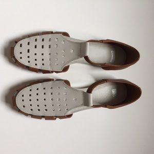 CAMPER TWINS leather sandals Size 39EU 8 US